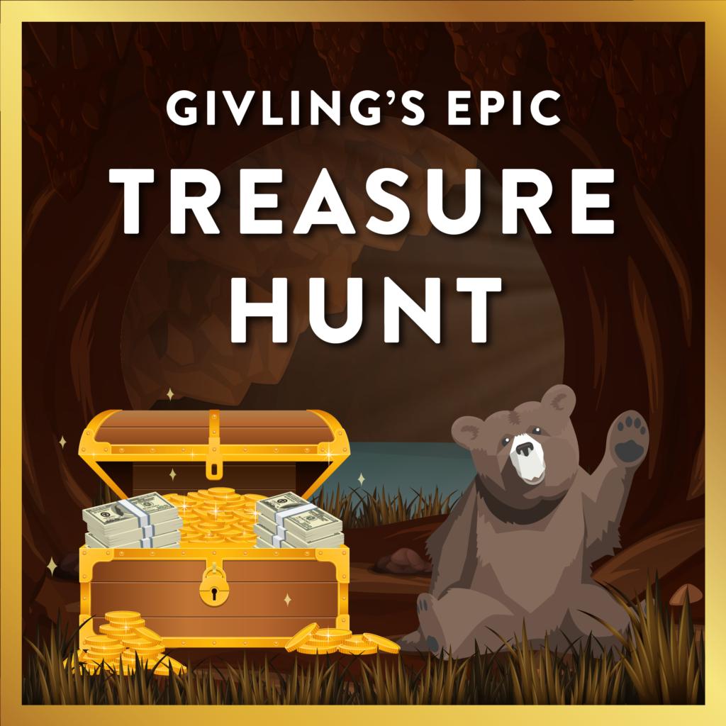 Givling's $5,000 Virtual Treasure Hunt