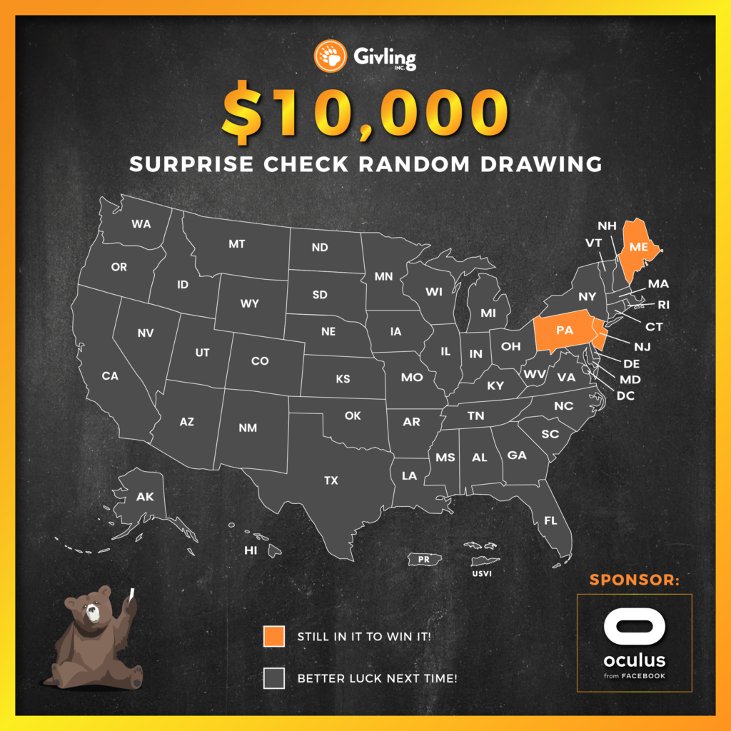 Who Is Givling's $10,000 Surprise Winner?!